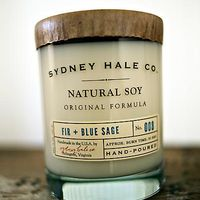 Fir + Blue Sage Soy Candle by Sydney Hale Co. on Wantist