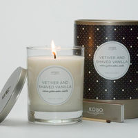 Vetiver and Shaved Vanilla Candle by Kobo 4