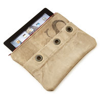 Upcycled Mail Sack iPad Case on Wantist