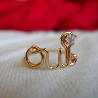 Oui Ring by Demi Corbett on Wantist