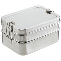 Stainless Steel 3-in-1 ECOlunchbox on Wantist