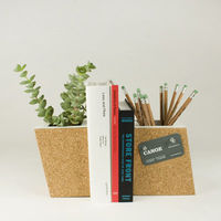 Cork Planter Bookend Set 1
