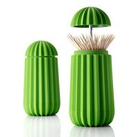 Cactus Tooth Pick Dispenser by Essey on Wantist