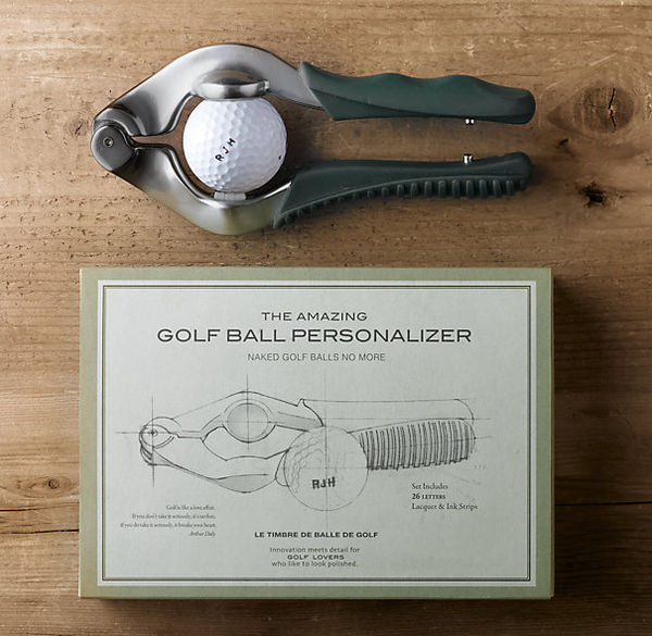 Golf Ball Personalizer on Wantist