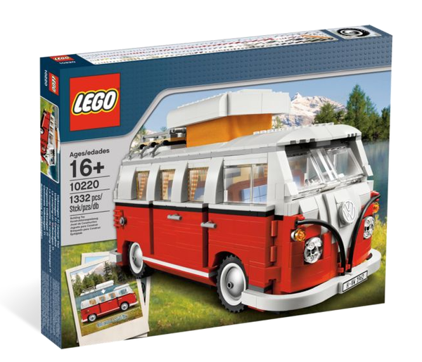 Lego Volkswagen T1 Camper Van on Wantist