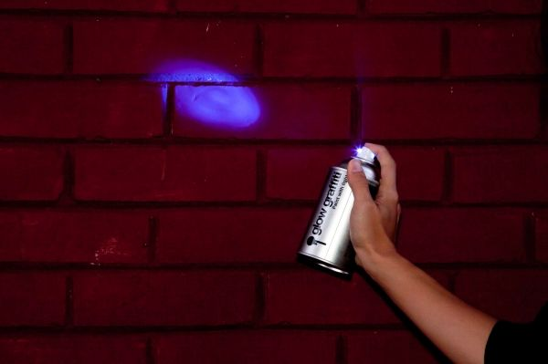 Light Paint Can on Wantist