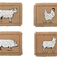 Quality Cuts Placemats by Simrin – Set of 4 on Wantist