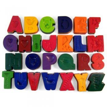 Alphabet Crayons  Set of 26 4