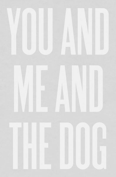 You and Me and the Dog Print by Ashley Goldberg 1