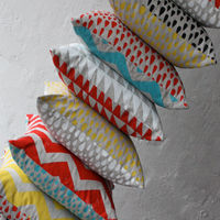 Totem Collection Cushion Covers by Harvest Textiles on Wantist
