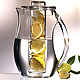 Fruit Infusion Pitcher with lemons