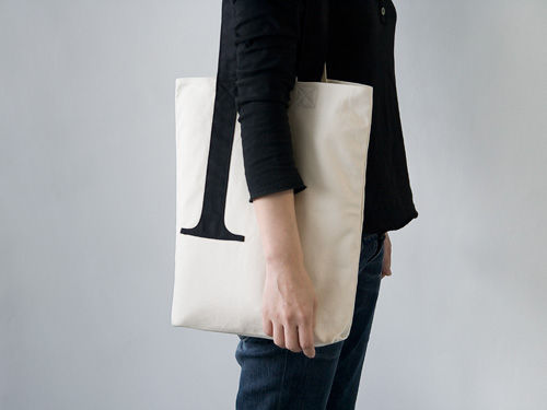 Serif Tote Bag on Wantist