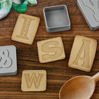Letterpressed Cookie Cutters 4