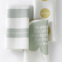 Love Set Tea Towels by Studiopatró on Wantist