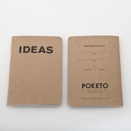 Ideas Book by Poketo – Set of 3 on Wantist