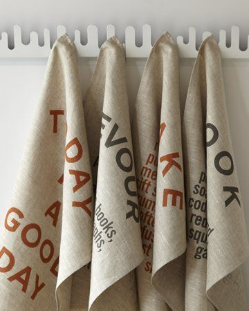 Rustic Tea Towel by Studiopatró on Wantist