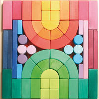 Romanesque Block Set on Wantist