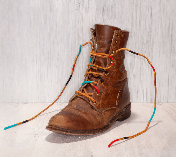 Hand-Painted Shoelaces by Comb Collective on Wantist