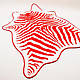 Zebra Beach Towel by Maslin &amp;amp; Co 5