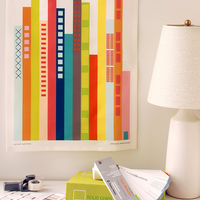Cityscape Tea Towel by Avril Loretti 3