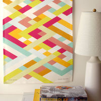 Lattice Tea Towel by Avril Loretti 3