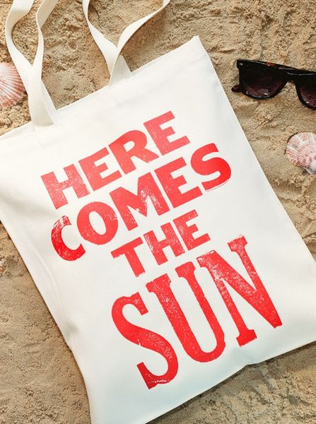 Sunshine is Delicious Tote Bag on Wantist