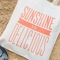 Sunshine is Delicious Tote Bag 3
