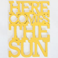 Here Comes The Sun Sign by Oh Dier on Wantist