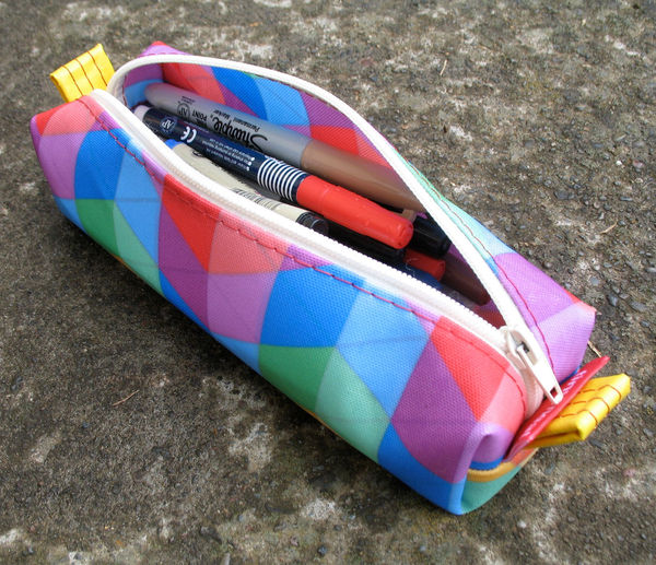 Zippered Pencil Pouch by Tinymeat 1