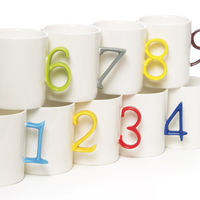 Number Mugs on Wantist