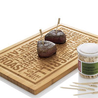 Bamboo BBQ Board 3