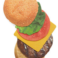 Burger Coasters  Set of 6 6