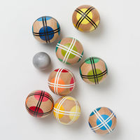 Handmade Bocce Ball Set 2
