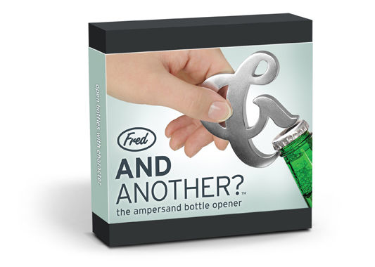 Ampersand Bottle Opener on Wantist