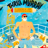 Thrill Murray: A Bill Murray Coloring Book on Wantist