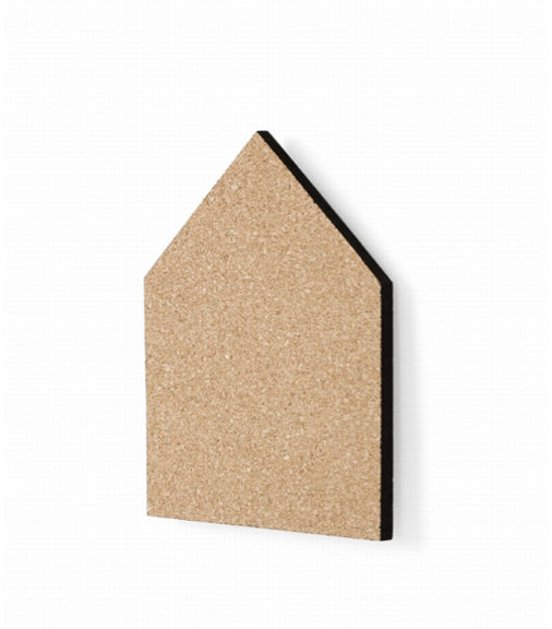 House-Shaped Pin Board by FermLiving 1