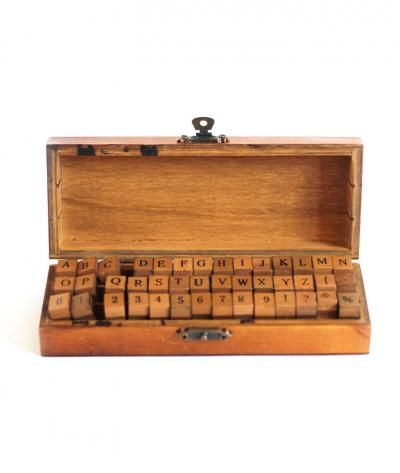 Antique Stamp Set on Wantist