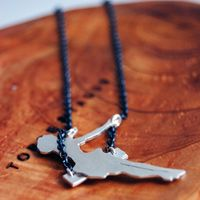 Swinging Girl Necklace by Markhed Design 1