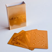 Gold Playing Cards 12