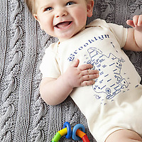 Maptote Brooklyn Onesie on baby