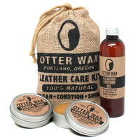 Otter Wax Leather Care Sampler on Wantist