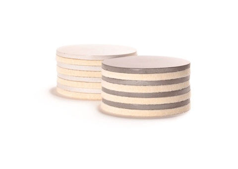 Concrete Felted Coasters by Culinarium on Wantist