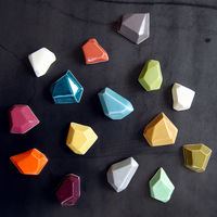 Faceted Magnets by Pigeon Toe Ceramics 1