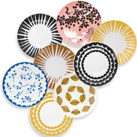 Rym Collection Saucers  Set of 6 1