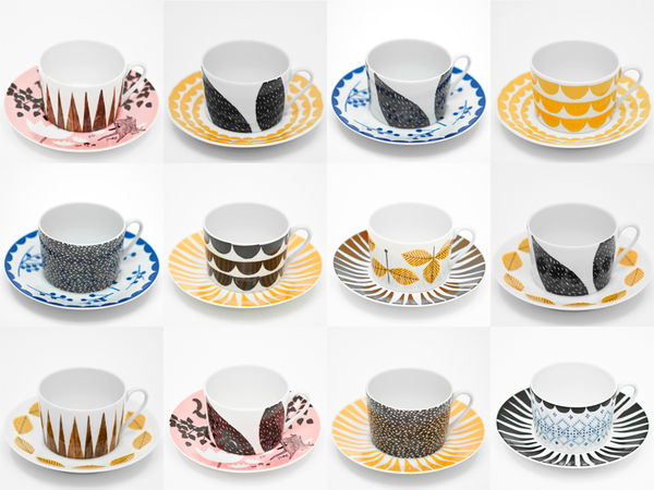 Rym Collection Saucers – Set of 6 on Wantist