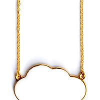 Cloud Necklace on Wantist