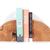 Solid Maple Bookends by Marvin Freitas  on Wantist