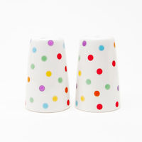 Polka Dot Salt & Pepper Shakers 1