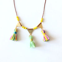 Lola Necklace by Tzunuum on Wantist