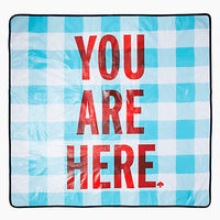 You Are Here Picnic Blanket by Kate Spade 2